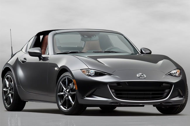 Mazda introduces MX-5 RF Launch Edition, limited to 1,000 units