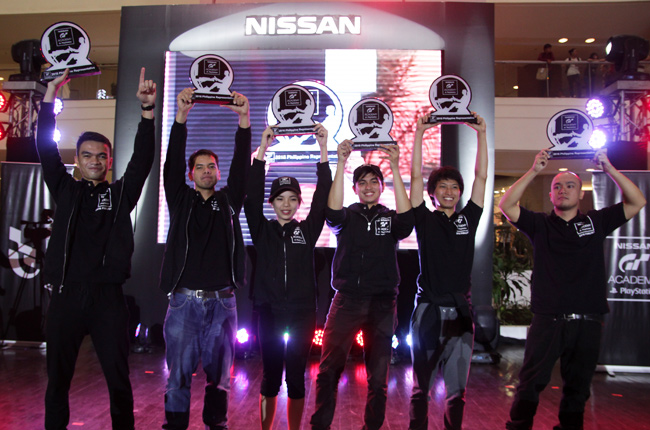 Nissan GT Academy Philippines top 6