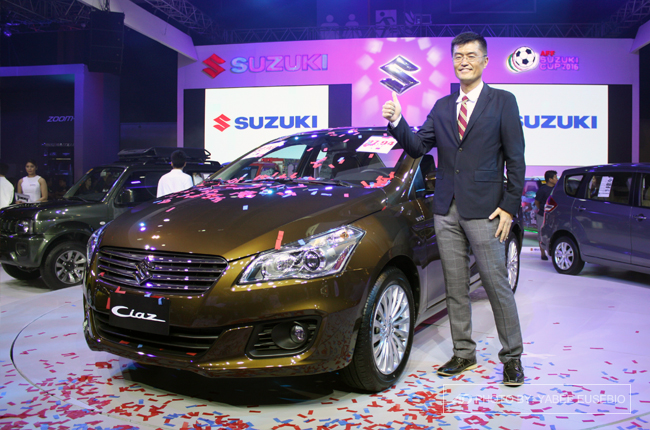 PIMS 2016: Suzuki displays award-winning Celerio CVT and new Ciaz