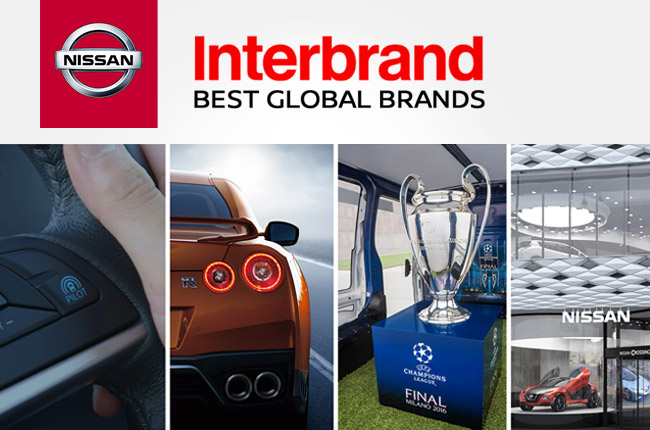 Interbrand tags Nissan as one of the world's top brands