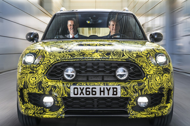 MINI to join the hybrid automobile trend with Countryman E
