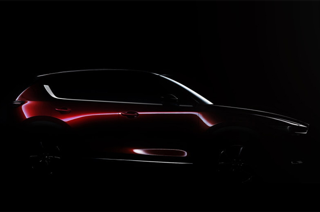 Mazda Has Released A Teaser Photo Of The 2017 CX 5 Leaving Fans Drool A Bit  More Before Its Official Debut At This Yearu0027s Los Angeles Auto Show.