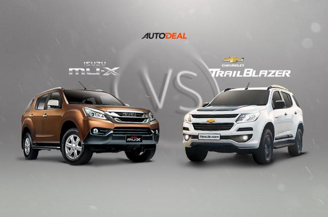 Car Comparo: Which is the better SUV, Chevrolet Trailblazer or Isuzu mu-X?