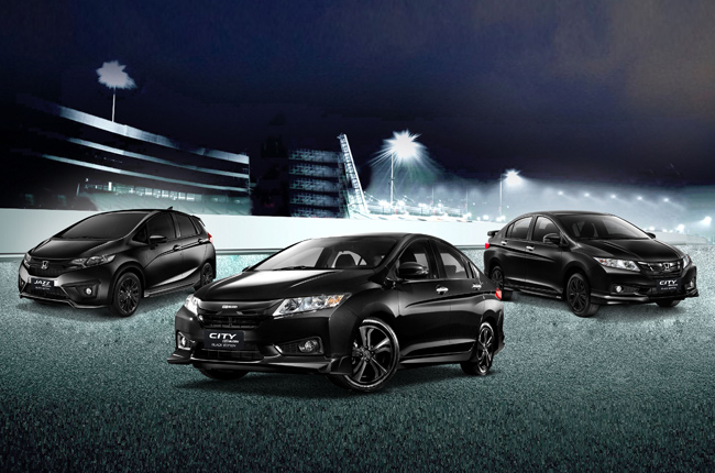 Honda announces City and Jazz Black Edition