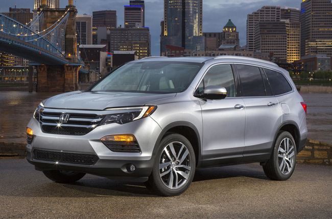 2017 Honda Pilot to have Apple CarPlay and Android Auto