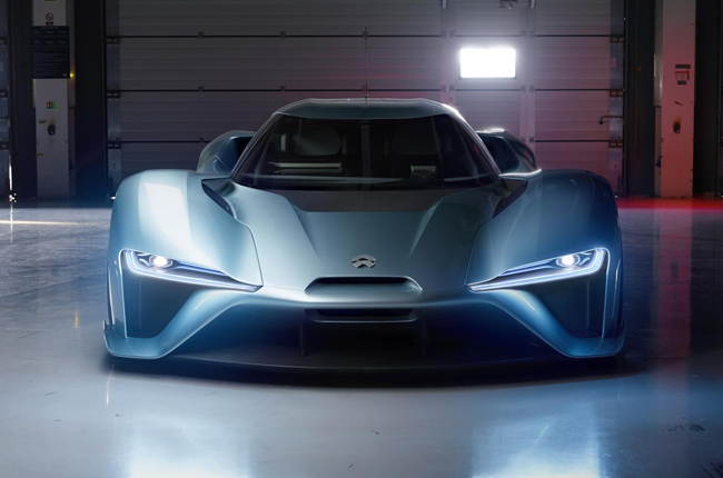 China's NIO EP9 electric supercar packs 1,360 hp