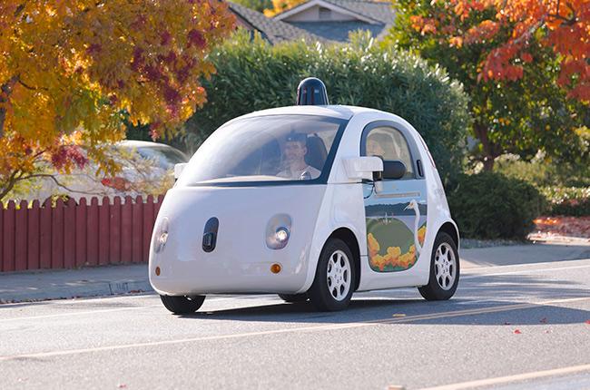 Waymo-Google self-driving car