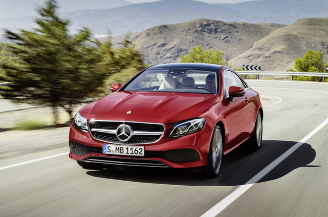 Mercedes-Benz introduces bigger 2018 E-Class Coupe