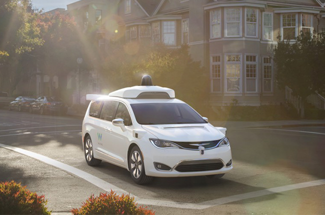 Waymo's self-driving Pacifica
