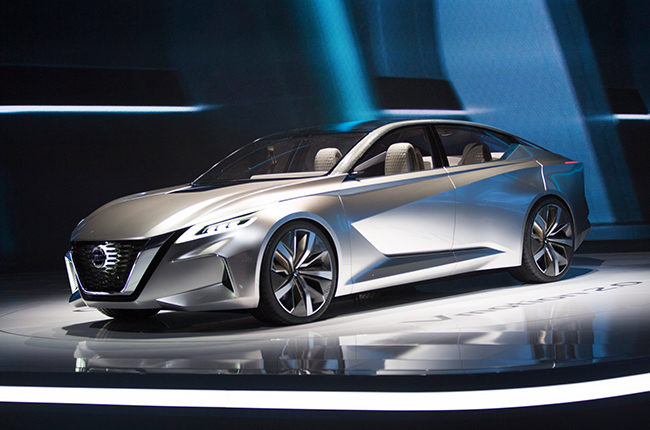Nissan gets EyesOn award for Best Concept Vehicle at NAIAS