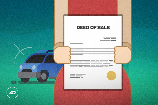 car deed of sale