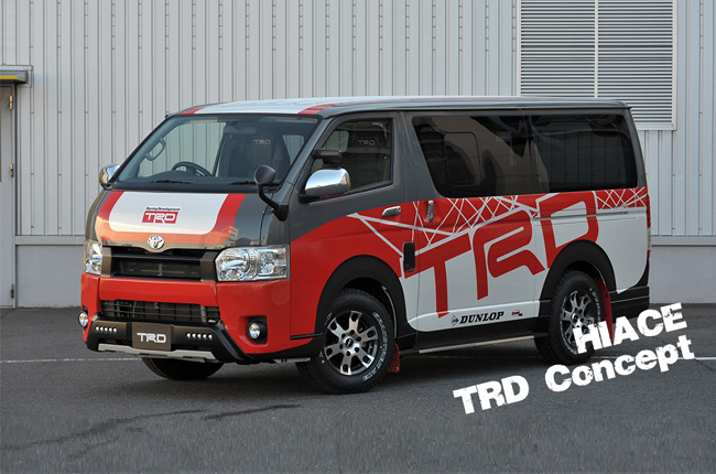 Tokyo Auto Salon 2017: Toyota Hiace goes 'sporty' with TRD concept