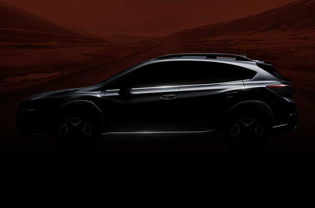 Subaru teases all-new XV ahead of Geneva debut
