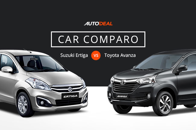 Car Comparo Toyota Avanza Vs Suzuki Ertiga As A Family Mpv