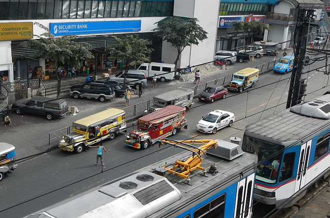 EDSA Guadalupe Jeepney
