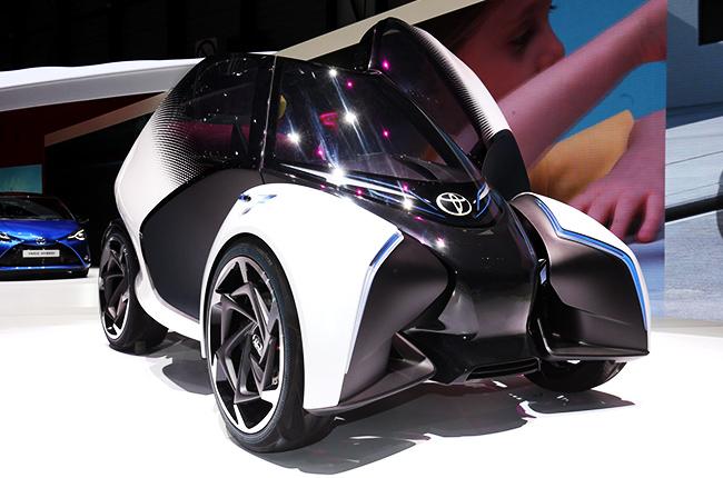Toyota i-Trill concept