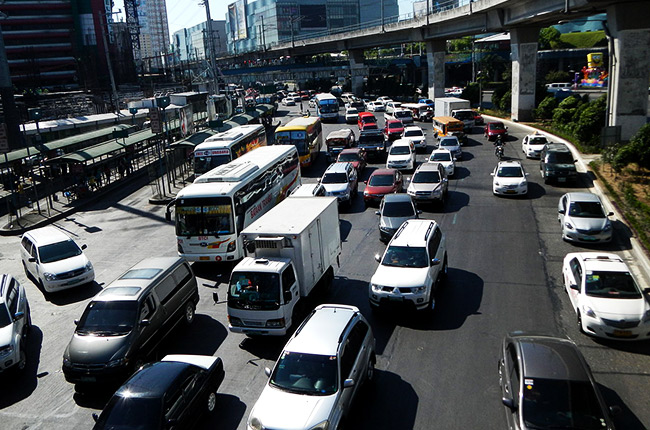 EDSA traffic situation
