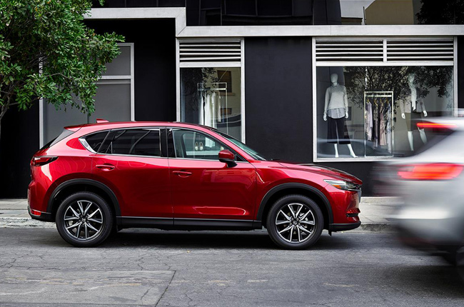 2017 Mazda CX-5 Safety