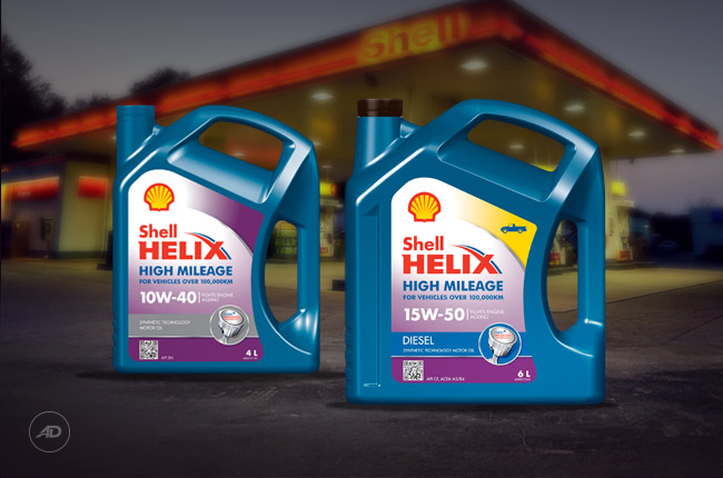 Shell Helix High Mileage