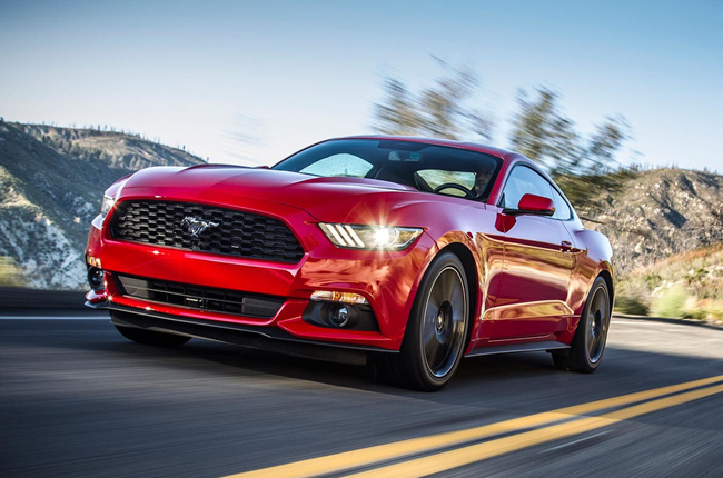 Ford Mustang best-selling sports car