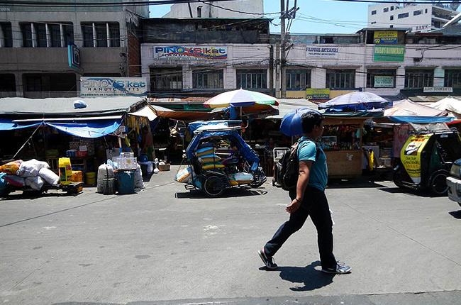 A street in Quiapo.