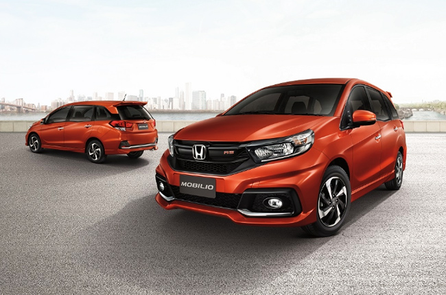 Facelifted Honda Mobilio