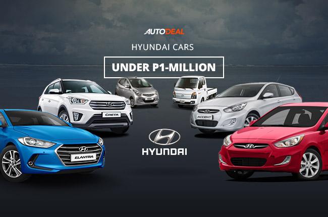 Hyundai vehicles under P1-M