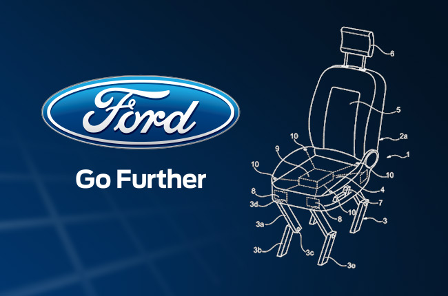 Ford Patent Walking Car Seats