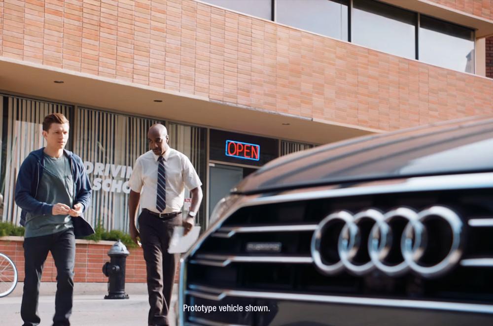 Audi Spider-Man Driver's Test video