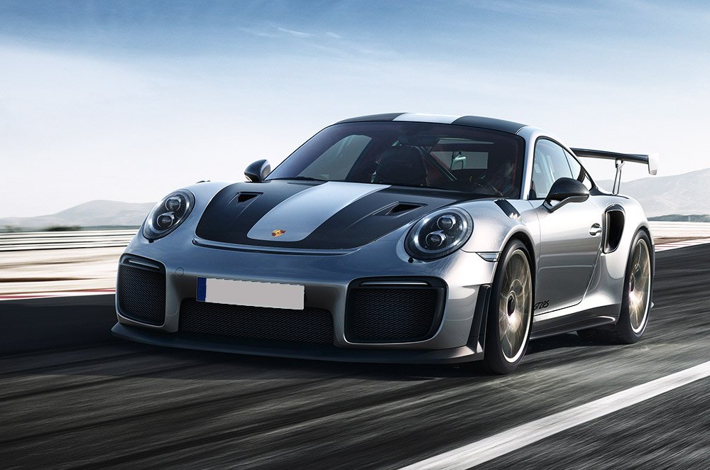 porsche unleashes 2018 911 gt2 rs with whopping 700 hp. Black Bedroom Furniture Sets. Home Design Ideas