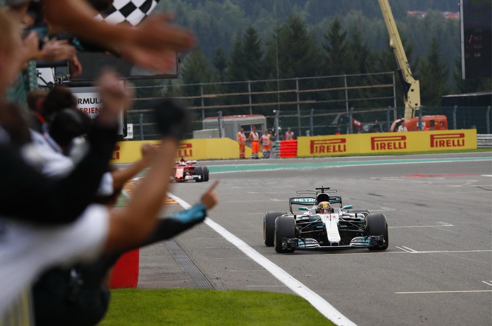 Mercedes-AMG Petronas Lewis Hamilton Belgian Grand Prix