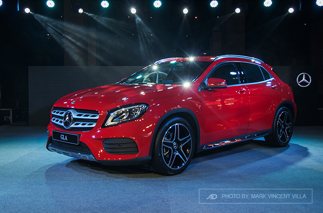 Mercedes Benz Gla Price Philippines >> Mercedes Benz Ph Brings 2018 Gla Compact Crossover Autodeal