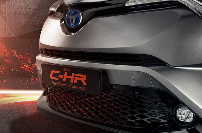 C-HR Hy-Power hybrid
