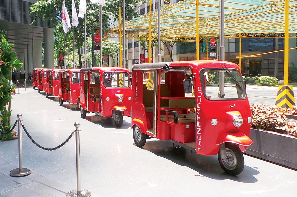 EMotors Electric Shuttle