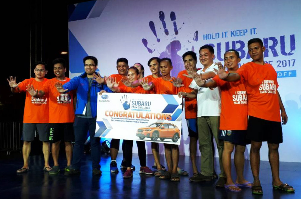 Top 10 of the Subaru Palm Challenge PH leg