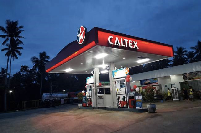 Caltex new station