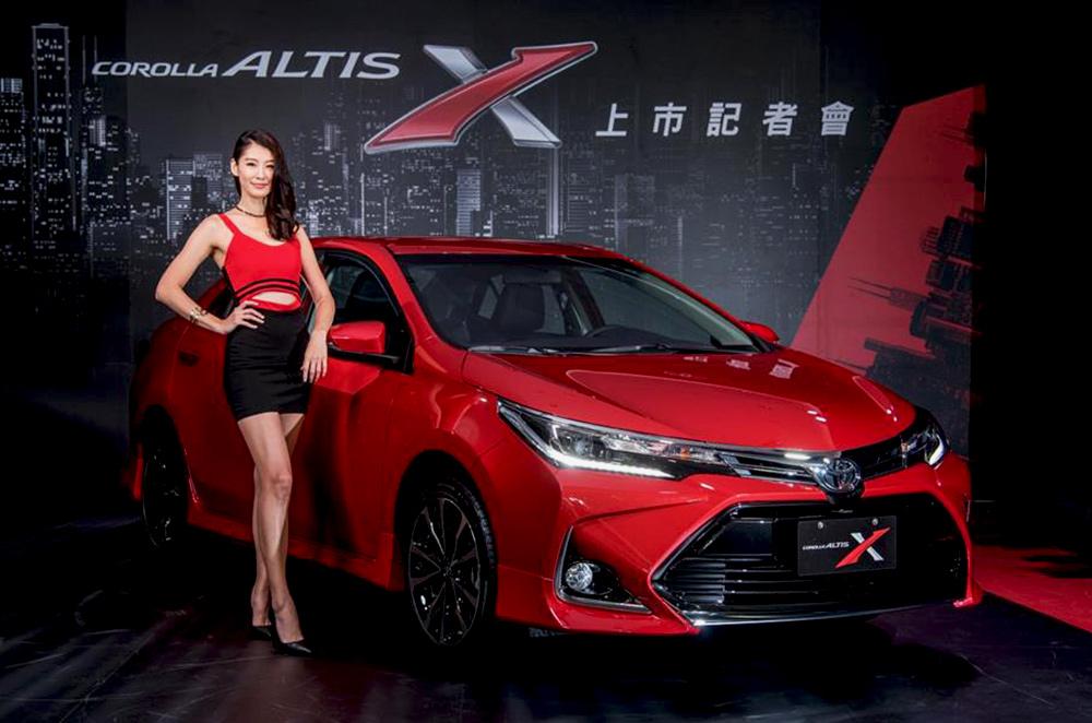 Toyota Corolla Altis X