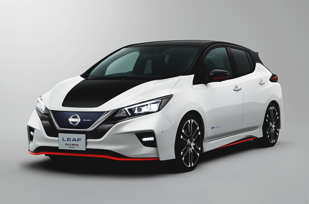 2018 Nissan Leaf Nismo Concept