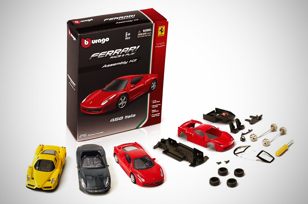 Pilipinas Shell Ferrari toy car collection