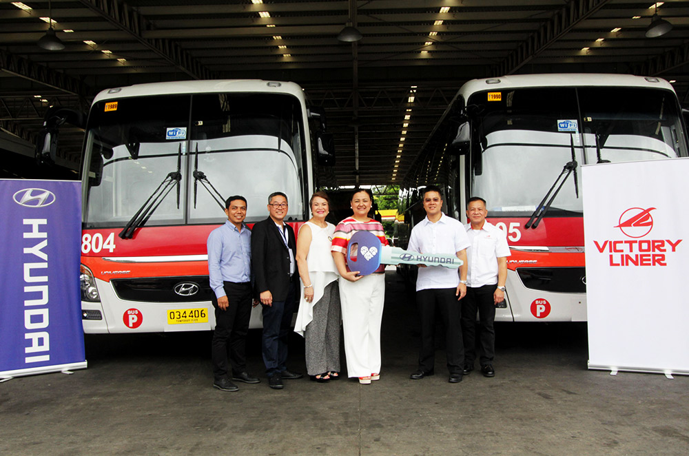 Victory Liner Inc Acquires 20 Hyundai Luxury Buses Autodeal