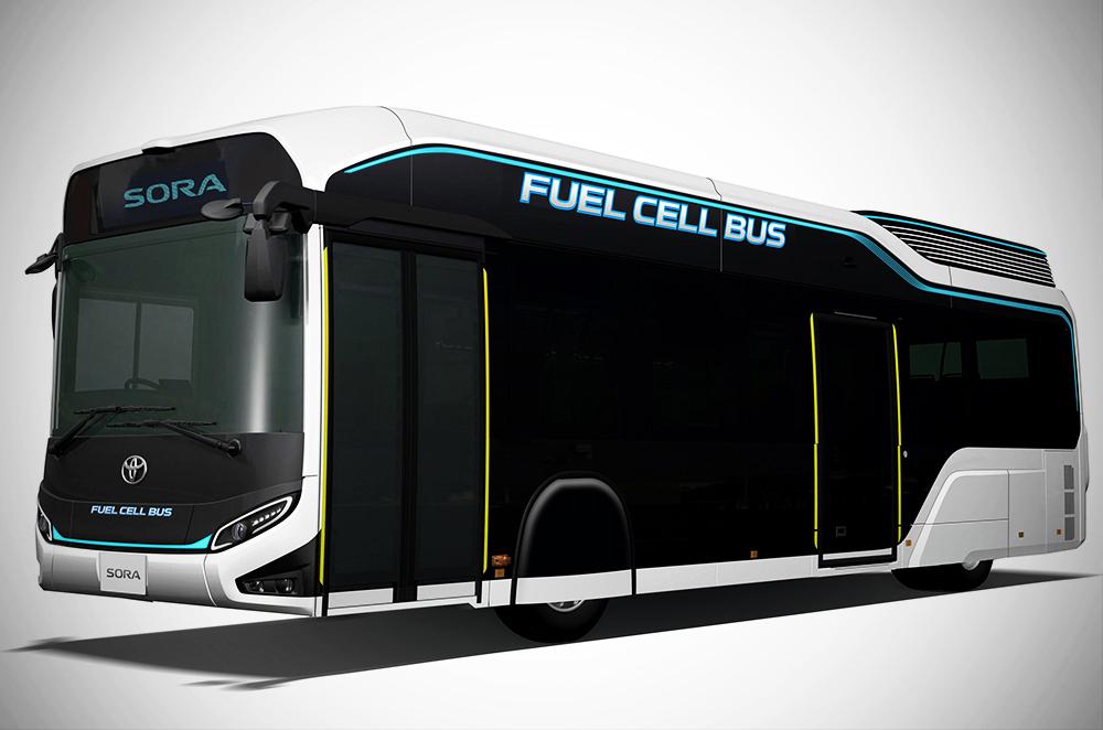 Toyota Sora Fuel Cell bus concept