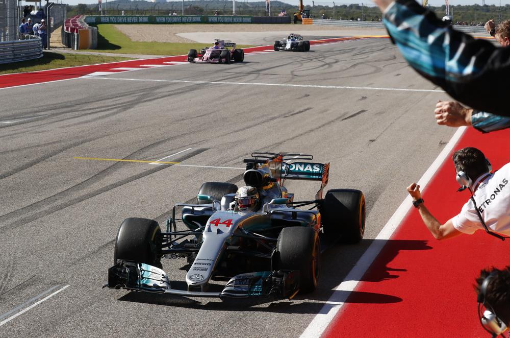 F1 2017: Hamilton wins Austin Grand Prix, extends ...