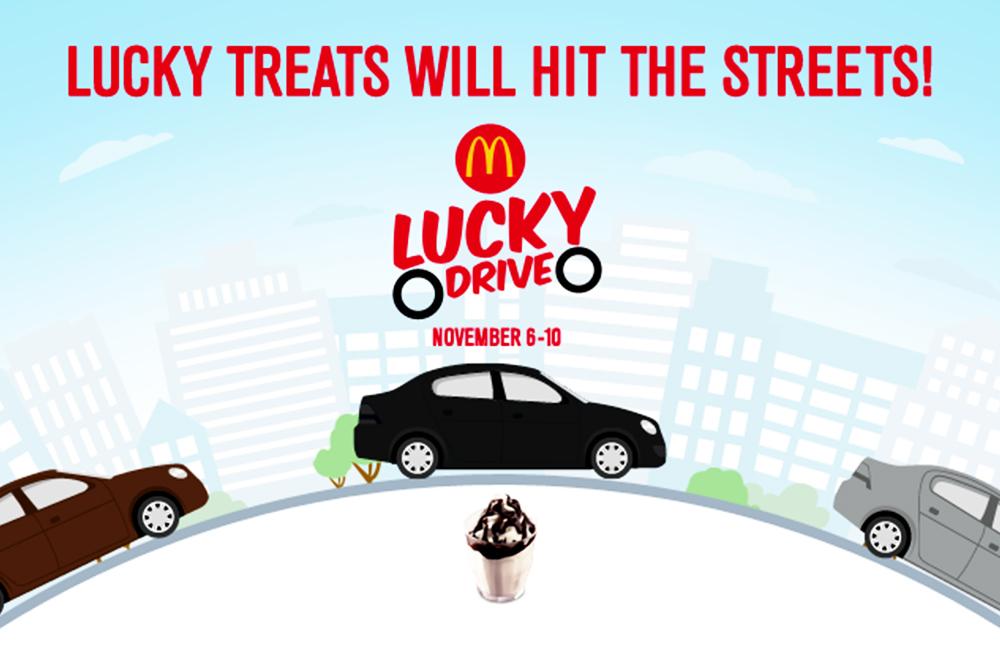 McDo Lucky Drive Promo