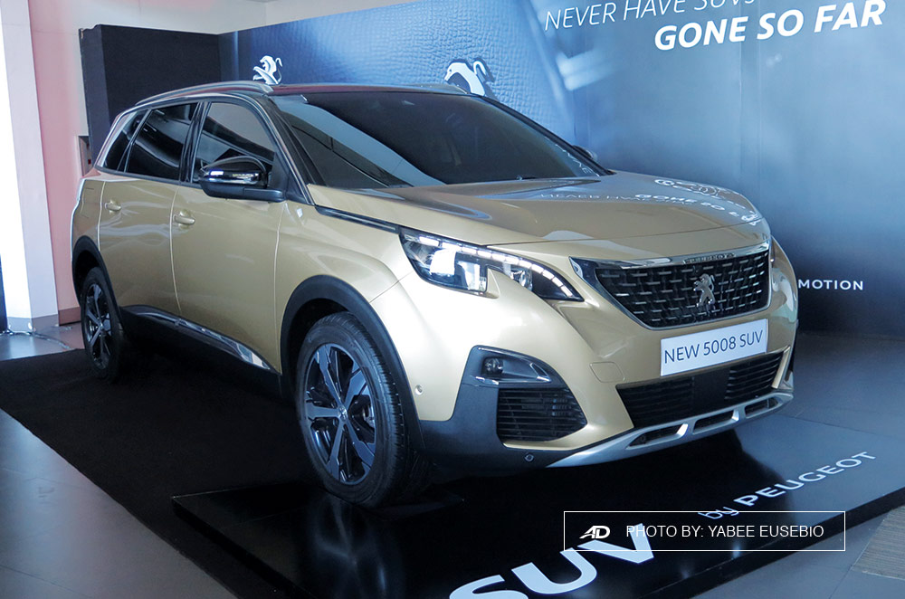 peugeot ph showcases refreshed 2008 all new 3008 and 7 seater 5008 autodeal. Black Bedroom Furniture Sets. Home Design Ideas