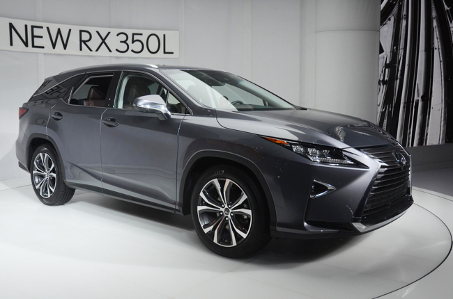 Lexus 7 Seater >> L A 2017 Lexus Reveals Rx With 6 And 7 Seater Variants Autodeal