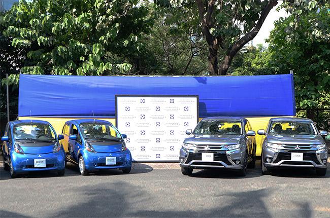 Mitsubishi EVs DOE