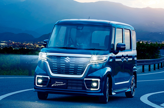 Suzuki Spacia Custom Hybrid