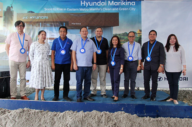 Hyundai Marikina showroom groundbreaking