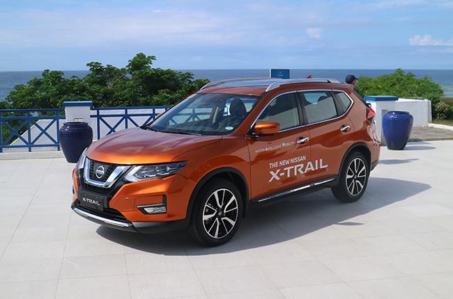 nissan x-trail drive