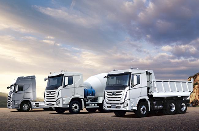 Hyundai Xcient truck